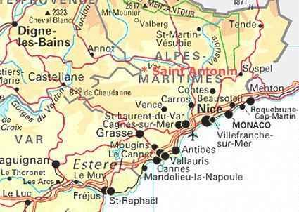 Saint Antonin Alpes Maritimes